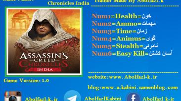 Assassin's Creed Chronicles: India: Трейнер/Trainer (+6) [1.0] {Abolfazl.k}