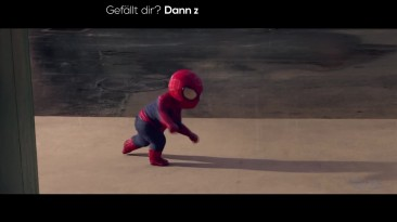THE AMAZING SPIDER-MAN 2: Evian Baby & me 2   2014 Official Spot [HD]