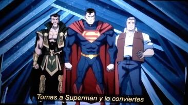Больше слитых скриншотов из предстоящего анимационного фильма по файтингу Injustice!
