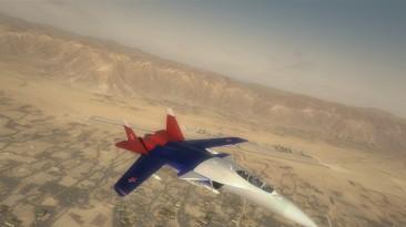 """H.A.W.X. 2 """"Su-47 Russian Skin"""""""