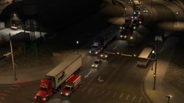 "American Truck Simulator ""Лучшие вспышки 3.1b для ATS (UPD 5/5) 1.37.х"""