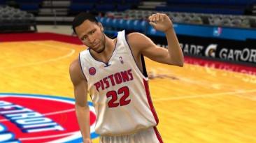 "NBA 2K10 ""Detroit Pistons 10-11 Jerseys Update"""