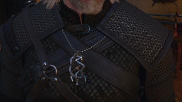 "Witcher 3: Wild Hunt ""Замена медальонов на броне разных школ"""