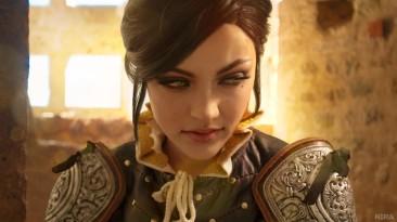 Косплей Сианны из The Witcher 3