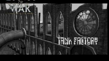 "Warhammer 40,000: Dawn Of War - Dark Crusade ""Карта - Tank Factory"""