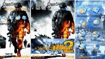 "Bad Company 2 ""Тема для Nokia с S60 240х320"""
