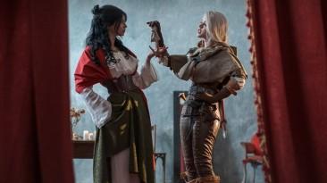 Косплей Цири из The Witcher 3