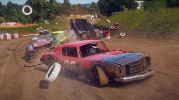 Новое обновление Wreckfest добавляет динамическую грязь на ПК и кросс-плей на PlayStation
