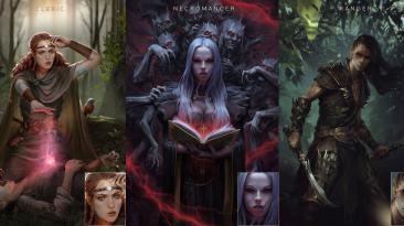 "Pathfinder: Wrath of The Righteous ""Новые портреты - Heroes of Stolen Lands"""