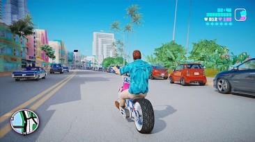 Действительно интересный мод - ремастер Vice City на основе Grand Theft Auto V