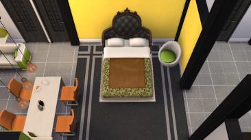 "The Sims 4: ""Диван-кровать от MelkoeKote"""