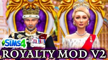 """The Sims 4 """"Русский перевод Королевская власть / Royalty Mod v2.1"""""""