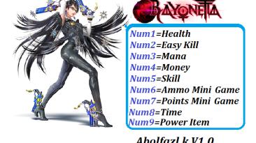Bayonetta: Трейнер/Trainer (+9) [1.0] {Abolfazl.k}