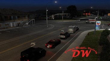 "American Truck Simulator ""Правильное разнообразие трафика v2.15.21A (1.40.x)"""