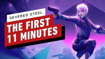Первые 11 минут геймплея Severed Steel: инди-FPS с динамической системой трюков
