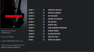 Hitman 3: Трейнер/Trainer (+11) [3.10-3.30] {FLiNG}