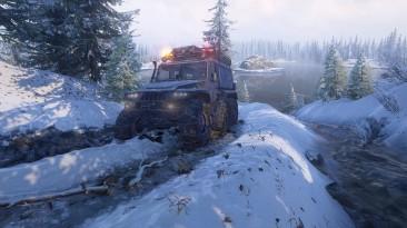 Удачи на дорогах: Свежий геймплейный трейлер SnowRunner представляет новую локацию на российском Таймыре