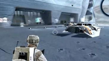 Похоже произошла утечка раннего билда Star Wars: Battlefront 3