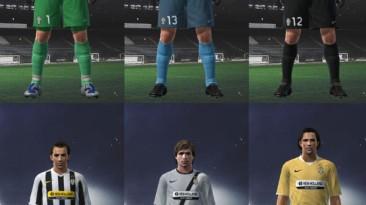 """PES 2009 """"Juventus 09/10 Kit Set by Nicklaaas"""""""