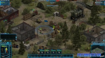 """Affected Zone Tactics """"Первый геймплей"""""""