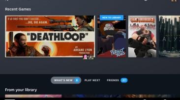 Скриншоты пользовательского интерфейса Steam Deck, который заменит собой Steam Big Picture