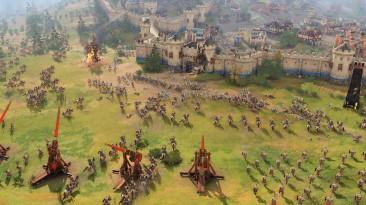 Разработчики Age of Empires 4 показали сражение между Францией и Китаем