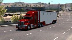 """American Truck Simulator """"Прицеп Manac Chipvan в собственность"""""""
