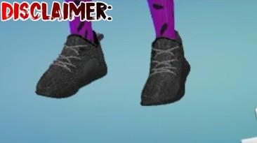 "The Sims 4 ""Кроссовки Yeezy"""