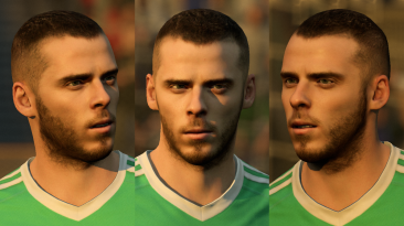 "FIFA 18 ""David de Gea new face"""
