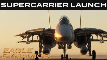 """DCS World обещает """"самую реалистичную симуляцию авианосца"""" с релизным трейлером Supercarrier"""