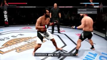 "UFC 2 ""Бой Hendrick vs Khaled """
