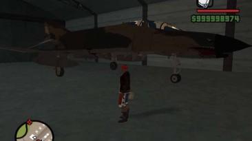"Grand Theft Auto: San Andreas ""F-4E PHANTOM II"""