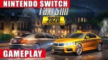 Геймплей Switch-версии Taxi Sim 2020