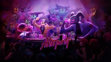 18 минут геймплея Afterparty от создателей Oxenfree