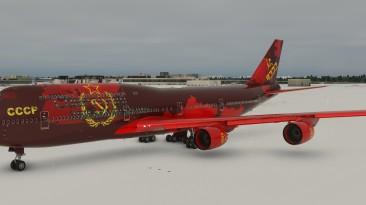 "Microsoft Flight Simulator ""Boeing 747 - CCCP"""