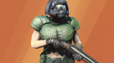 "Fallout 4 ""Doom Classic Marine Armor"""