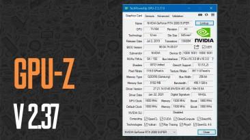 Утилита GPU-Z v2.37 поддерживает AMD Radeon RX 6700 и RX 6600