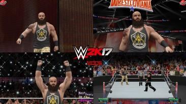"WWE 2K17 ""Braun Strowman WrestleMania 36 Attire WWE 2K19 Port MOD"""