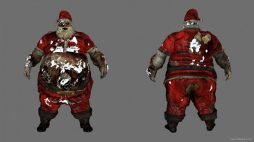 "Left 4 Dead 2 ""Xmas Santa Boomer as Bile Jar"""