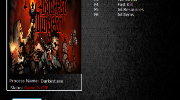 Darkest Dungeon: Трейнер/Trainer (+6) [Build 14620] {MrAntiFun}