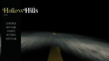 Демоверсия игры Hollow Hills, в стиле Silent Hill