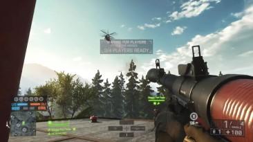 Battlefield 3 M3RK = Геликоптер
