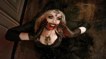 Интересный косплей на ведьму из замка Димитреску
