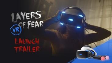 Релизный трейлер Layers of Fear VR с живыми актёрами