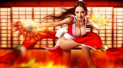 Косплей Мэй Ширануй из The King of Fighters 14
