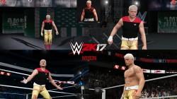 "WWE 2K17 ""Cody Rhodes 2 Attire WWE 2K19 Порт мод"""