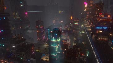 Видео игрового процесса консольной версии Cloudpunk