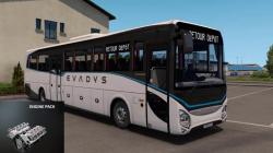 """Euro Truck Simulator 2 """"Мод Пак Двигателей для Iveco Evedys v1.0 (v1.39.x)"""""""