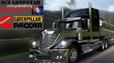 "American Truck Simulator ""International lonestar совместимость для звуков от kriechbaum ATS 1.36.x"""