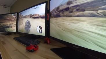 EWB запустили Dirt 3 в разрешении 11520x2160